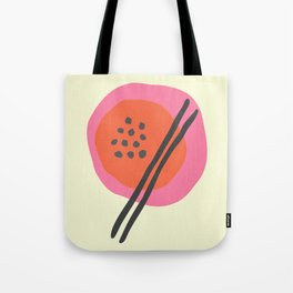 Frugal Food Sixties Tote Bag