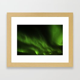 Aurora Borealis/Northern Lights Framed Art Print