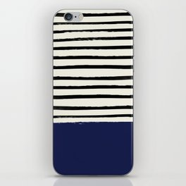 Navy x Stripes iPhone Skin