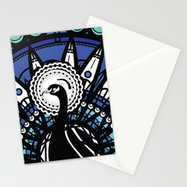 Immortal Pavo Stationery Cards