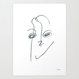 Demeter Moji d16 3-2 w Art Print