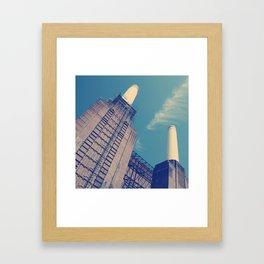Battersea Power Station 2 Framed Art Print