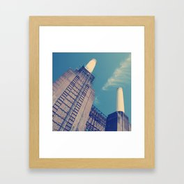 Battersea Power Station 2 Framed Art Print