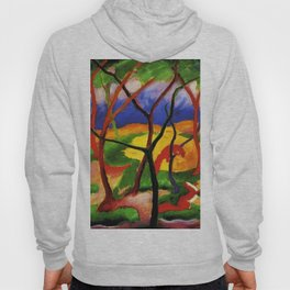 """Franz Marc """"Weasels At Play"""" Hoody"""
