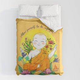 The Buddhist Monk Duvet Cover