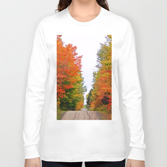 Rolling Through the Hills of Autumn Long Sleeve T-shirt