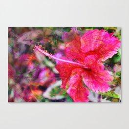 Hibiscus Winds Canvas Print