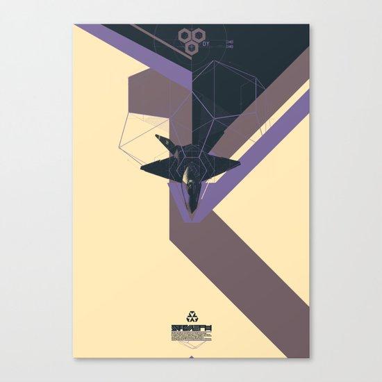 STEALTH:YF-23 Blackwidow II Canvas Print