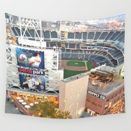 San Diego Padres Stadium - A view from above Wall Tapestry
