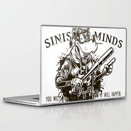 Sinister Minds. Goofy Laptop & iPad Skin