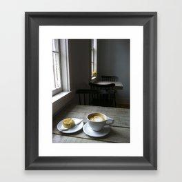 CAFE Framed Art Print
