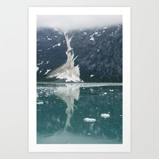 alaskan ice. Art Print