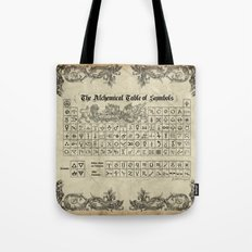 The Alchemical Table of Symbols Tote Bag