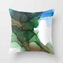 Norwegian forest Throw Pillow