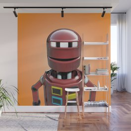 Andrew the robot. Wall Mural