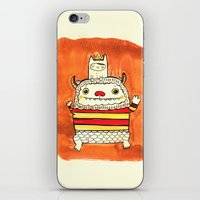 wild things iPhone & iPod Skins featuring Wild things by Maria Jose Da Luz