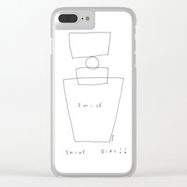 Shine Girl no.2 - perfume illustration Clear iPhone Case