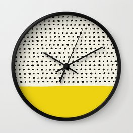 Sunshine x Dots Wall Clock