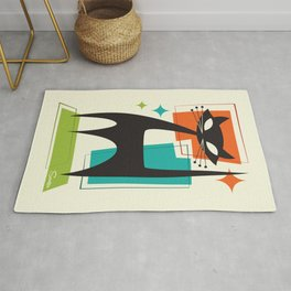 Mister Whiskers Rug