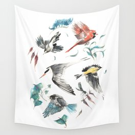 Birdwatching Wall Tapestry