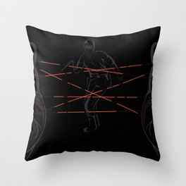 Agent's Cradle Throw Pillow
