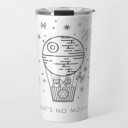 That's No Moon Death Star Hot Air Balloon Storm Tr Travel Mug