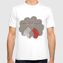 LOVE is a single soul in two bodies T-shirt