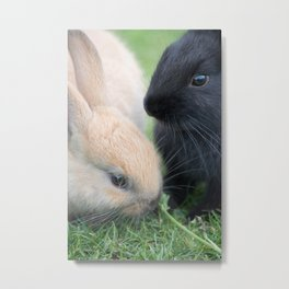 Finish Your Vegetables Metal Print