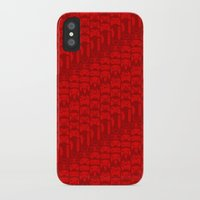 video game iPhone & iPod Cases featuring Video Game Controllers - Red by C.Rhodes Design