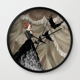 Midnight Circus: The Illusionist Wall Clock