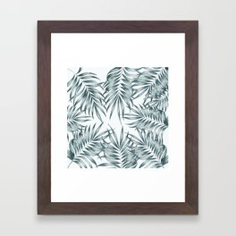 Palm Leaves #society6 #buyart Framed Art Print