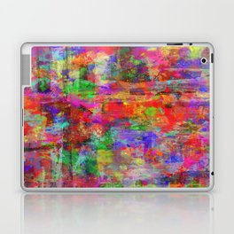 Vibrant Chaos - Mixed Colour Abstract Laptop & iPad Skin