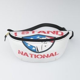 Proud USA Patriot National Anthem product Fanny Pack