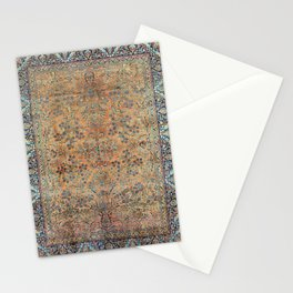 Kashan Floral Persian Carpet Print Stationery Cards