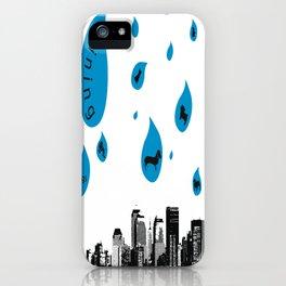 Raining Cats & Dogs iPhone Case