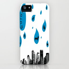 Raining Cats & Dogs iPhone Case