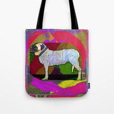 Mastifically Colorful Tote Bag