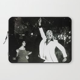 JASON VORHEES AS JOHN TRAVOLTA Laptop Sleeve