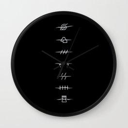 Village Traitors Wall Clock