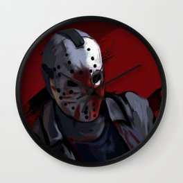 Friday the 13th Wall Clock