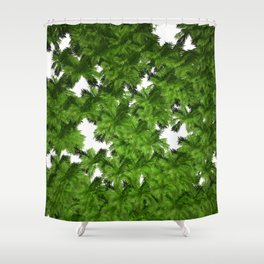 Jungle View Shower Curtain