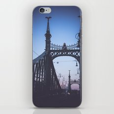Freedom bridge - summer sunset V. iPhone & iPod Skin