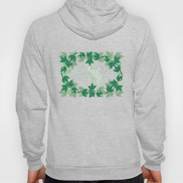 Abstract frame from grapevines Hoody