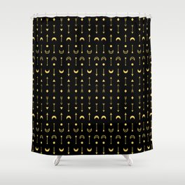 Symbols pattern #1 Shower Curtain