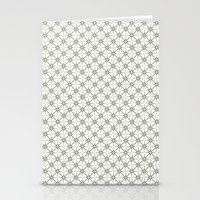 flower pattern Stationery Cards featuring Flower pattern by Yasmina Baggili