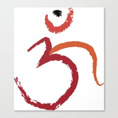 Om To Guide Your Way Canvas Print