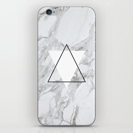 marble abstract iPhone Skin