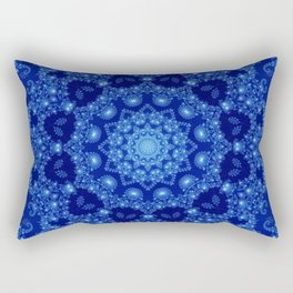 Ocean of Light Mandala Rectangular Pillow