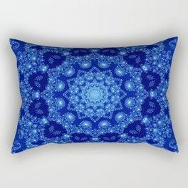Ocean of Light Mandala Rectangular Pillow