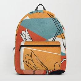 Vibrant Flower Design 1 Backpack